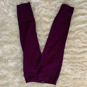 Purple office pant